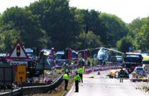 Sept morts dans le crash d'un avion lors d'un meeting aérien en Grande-Bretagne