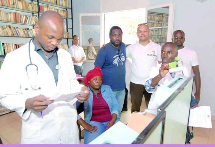 Campagne de consultations médicales gratuites au profit des Subsahariens