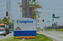 La petite ville de Compton, berceau du «Gangsta rap»
