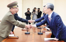 Un accord entre les deux Corées permet la désescalade