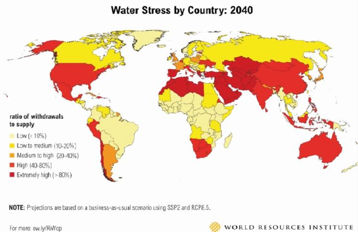 Le Maroc devrait affronter un stress hydrique extrême dans 25 ans