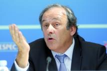Présidentielle Fifa: Platini temporise