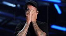 Pourquoi Justin Bieber a pleuré aux MTV Video Music Awards