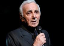 """De retour sur scène à 91 ans, Charles Aznavour """"se marre"""""""