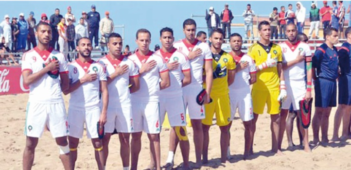 L'EN de beach-soccer rate le podium des JMP