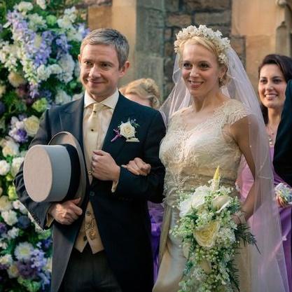 Martin Freeman et sa femme menacés de mort par des fans de Sherlock