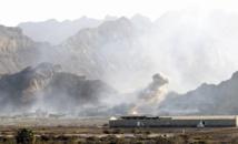 Sites militaires bombardés par la coalition à Sanaa