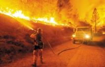 Etat d'urgence en Californie face à des feux monstres
