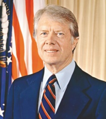 Reconversion des chefs d'Etat : Jimmy Carter