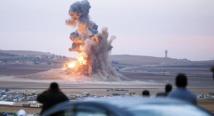 Premières frappes de la Russie dans deux provinces syriennes