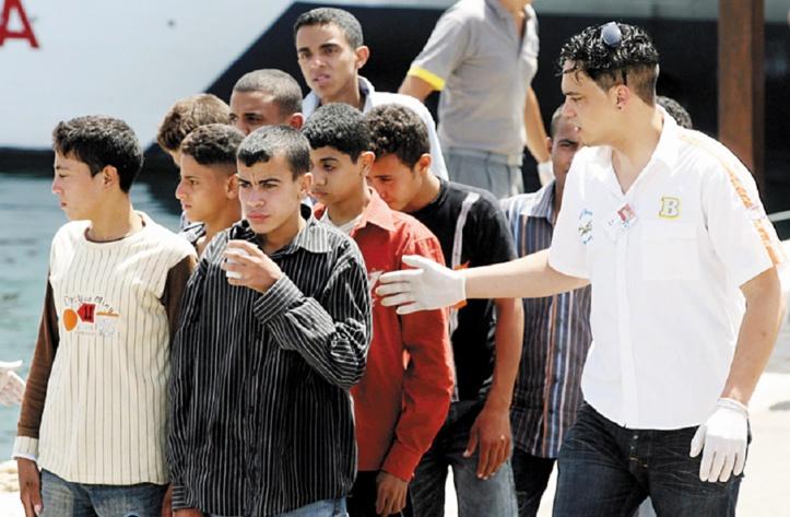 Près de deux mille mineurs marocains non accompagnés en Espagne