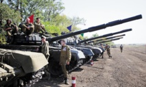 Retrait des chars dans l'est de l'Ukraine