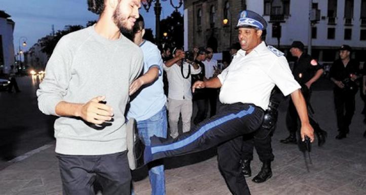 Brutalités policières inacceptables à Rabat et à Tanger