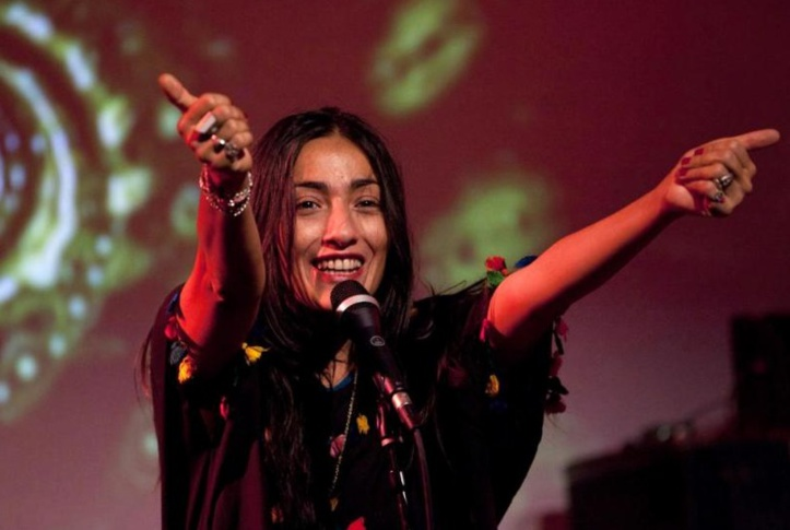 Hindi Zahra en concert à Londres