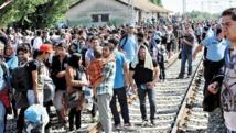 Un millier de migrants en attente à la frontière croato-slovène