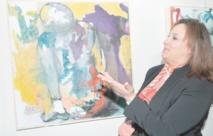Souad Byad expose ses œuvres à la Maison du Maroc à Paris