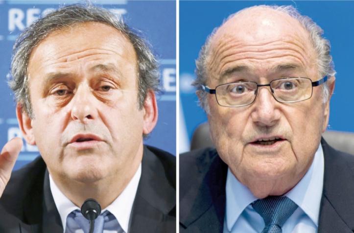 Platini admet qu'il n'y a pas de contrat écrit pour les 1,8 M EUR reçus de Blatter
