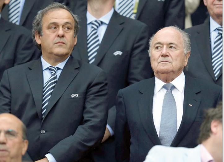 """Une possible """"falsification des comptes"""" par Blatter"""