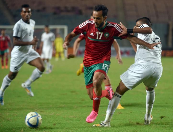 Le Onze local aux phases finales du Championnat d'Afrique des nations