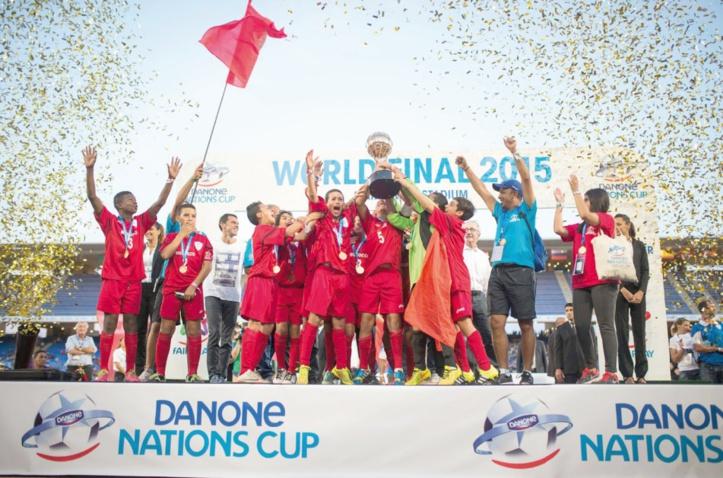 Consécration de l'équipe du Maroc à la Danone Nations Cup