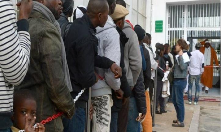 L'opération de régularisation laisse près de 2000 migrants irréguliers sur le carreau