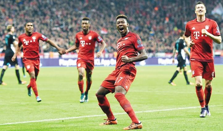 Carton du Bayern et qualification du Zenit