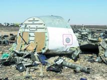L'hypothèse de l'attentat prise très au sérieux dans le crash de l'avion russe  Le rapatriement des Russes et Britanniques se poursuit
