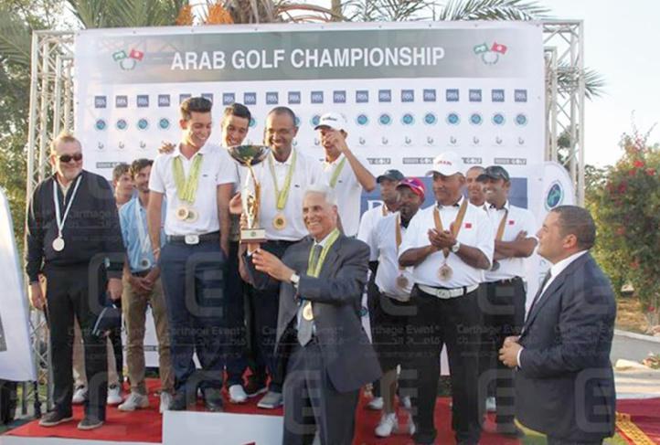Suprématie marocaine aux Championnats arabes de golf