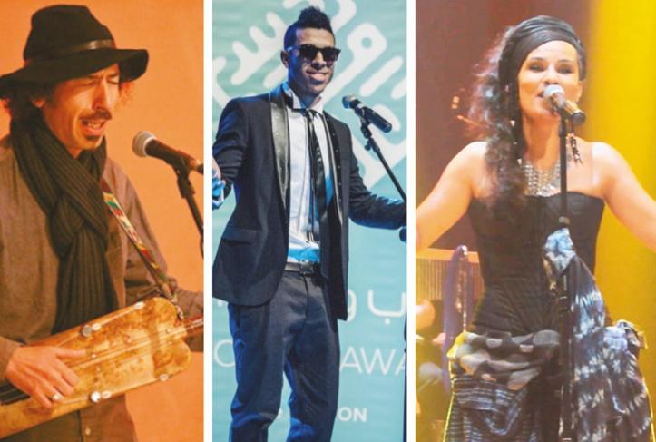 Jamal Nouman, Dizzy Dros et Oum sur scène devant de grands professionnels de la musique