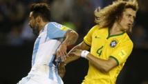 L'Argentine et le Brésil dos à dos