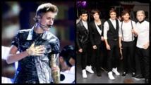 Justin Bieber et One Direction, les ados stars ont grandi