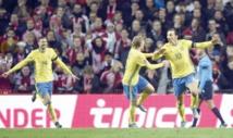 La Suède et l'Ukraine derniers qualifiés pour l'Euro 2016