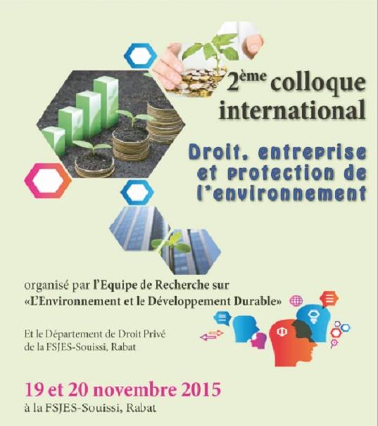 Interférences entre le droit de l'entreprise et les préoccupations environnementales