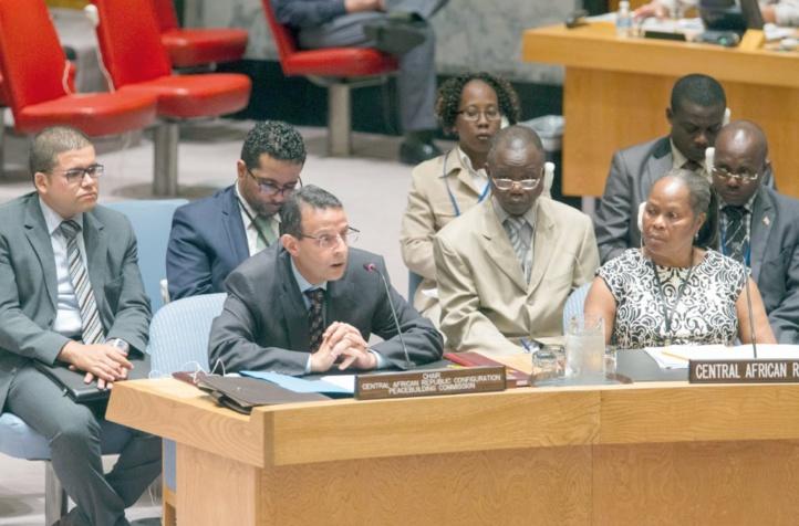 Abderrazzak Laassel, représentant permanent adjoint du Maroc à l'ONU.                                                         Photo UN