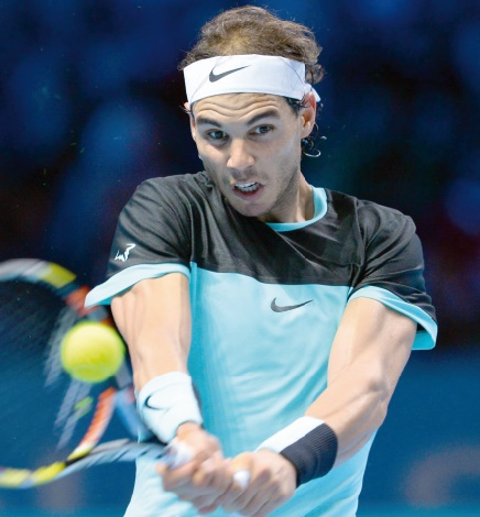 Nadal écarte Murray et passe en demies aux Masters