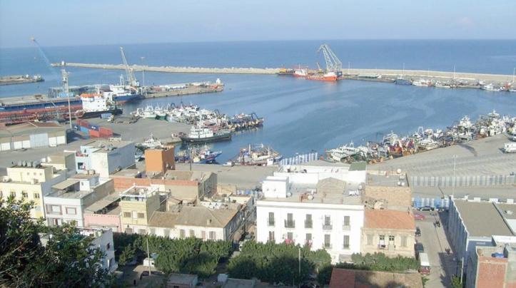 Le port d'Al Ghazaouete dans l'est algérien