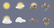 Prévisions météorologiques pour la journée du jeudi 26 novembre et la nuit suivante