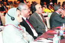 Participation de l'USFP à la réunion  de l'Internationale socialiste en Angola