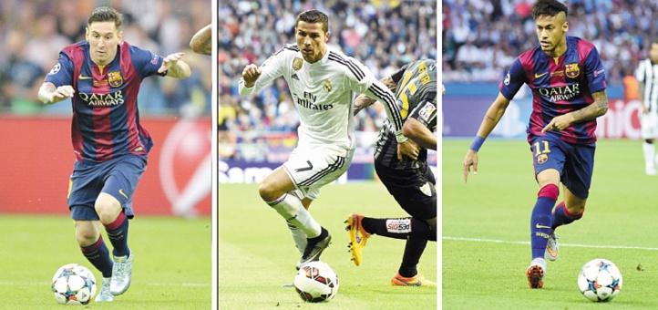 Neymar s'invite parmi les trois finalistes du Ballon d'Or