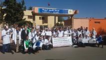 Marche et sit-in devant la délégation du MEN de Khouribga