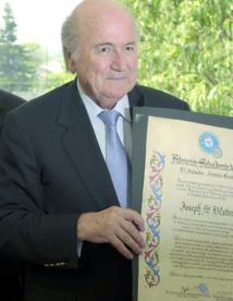 Blatter auditionné par  la commission d'éthique