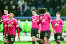 Manchester United sort par la petite porte en Ligue des champions