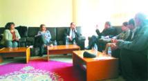 Driss Lachguar s'entretient avec les membres du Bureau central de l'AMDH