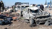 Triple attentat  suicide à Tall Tamer en Syrie