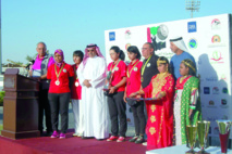 La FRMG rend hommage aux golfeurs marocains sacrés aux championnats arabes