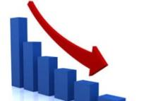 Baisse de moitié du taux d'activité en 2014