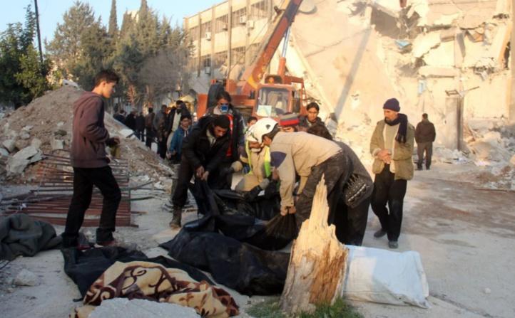 Les frappes russes ont tué des centaines de civils en Syrie