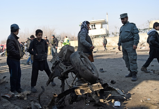 Attentat suicide près de l'aéroport de Kaboul
