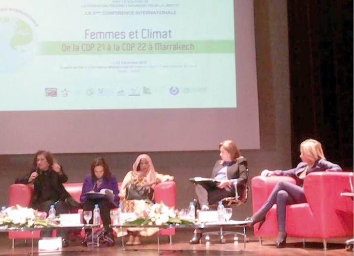 Faire de la question du genre une des priorités de la COP 22
