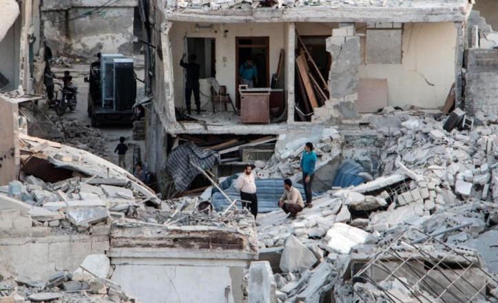 11 civils tués dans un raid de la coalition en Syrie
